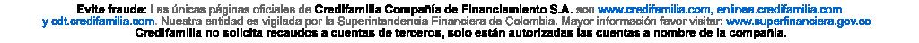 Logo evite fraudes